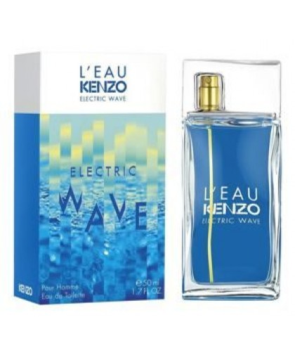 L'EAU PAR KENZO ELECTRIC WAVE POUR HOMME, 100ML, EDT
