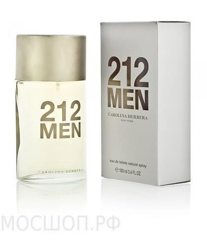 "CAROLINA HERRERA ""212 MEN""(ПРОЗРАЧНЫЙ ФЛАКОН), 100 ML, EDT"