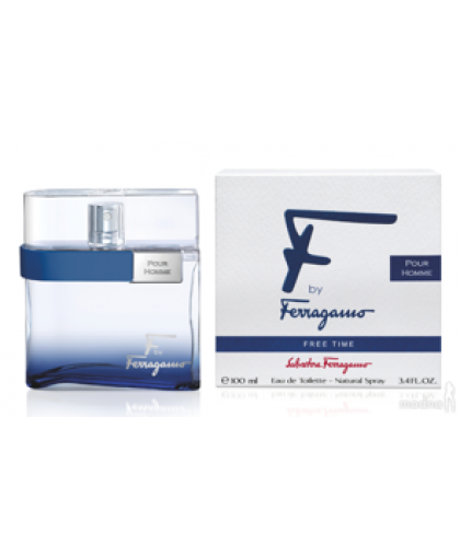 F BY FERRAGAMO FREE TIME SALVATORE FERRAGAMO, 100 ML, EDT