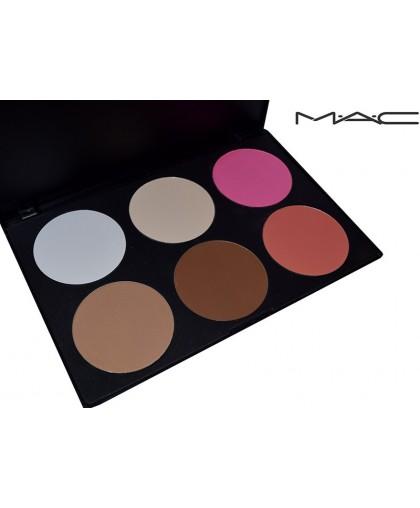 Палетка сухих корректоров MAC 6 цветов