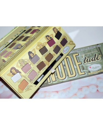 Тени the balm nude tude