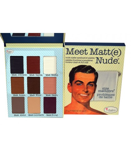 Тени the balm meet matte nude