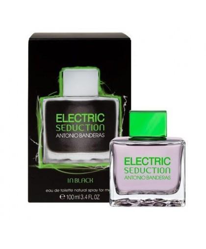 ELECTRIC SEDUCTION IN BLACK FOR MEN ANTONIO BANDERAS, 100ML, EDT